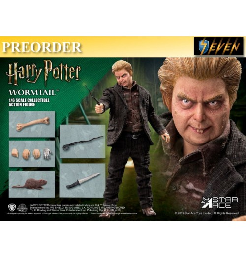 "PREORDER: Star Ace 1/6 Peter Pettigrew ""Wormtail"": Boxset"